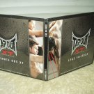 tapout xt extreme training replacement dvd's ultimate abs xt & legs & back w/ case