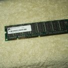 MT8LSDT864AG-662D3 Micron 64MB PC66 66MHz non-ECC Unbuffered CL2 168-Pin DIMM Memory
