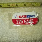 usbc united states bowling congress 225 game keyring keychain sealed