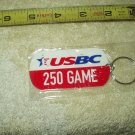 usbc united states bowling congress 250 game keyring keychain sealed