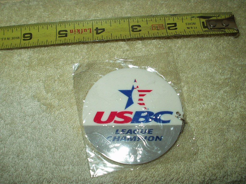 usbc united states bowling congress league champion keyring keychain sealed