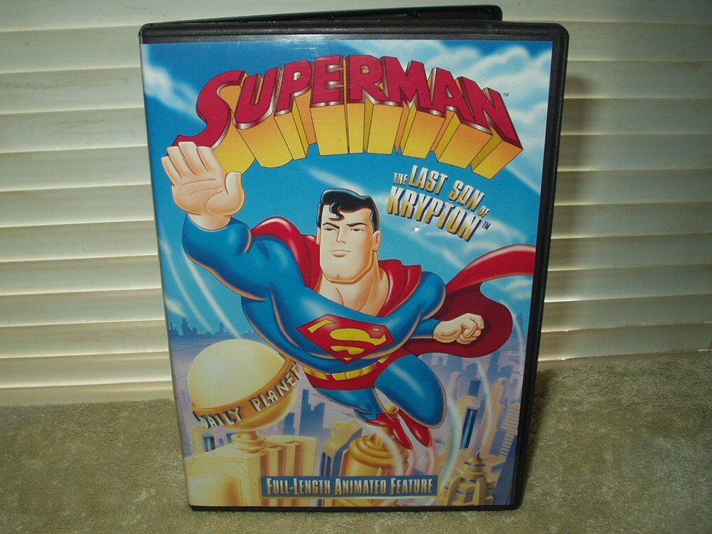 superman the last son of krypton dvd 61 minutes + special features