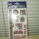 nhl new york rangers temporary tattoos 10 per sheet sealed nhl licensed