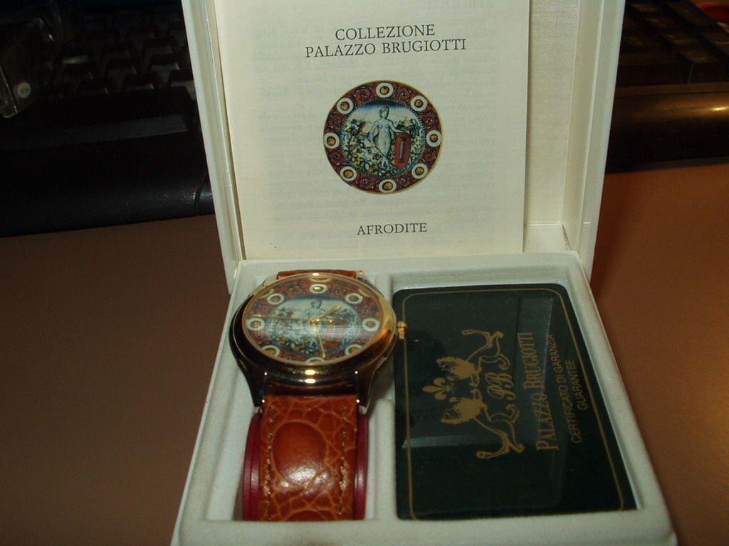 wrist watch palazzio brugiotti special edition afrodite