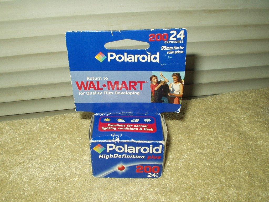 polaroid 35 mm 200 film high definition plus 24 exp sealed
