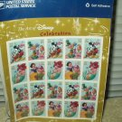 the art of disney celebration post office stamps  #567215 lot of 20 @ .37 each