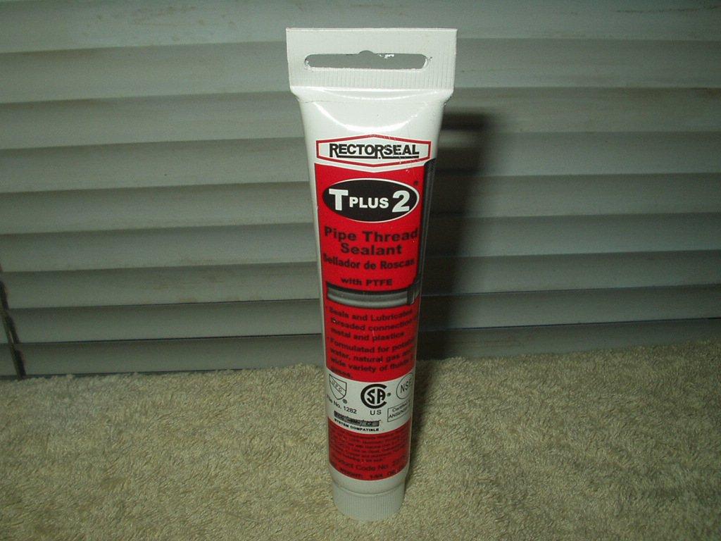 pipe thread sealant rectorseal brand 1 3/4 oz #23710 for metal & plastic