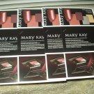 mary kay samples 4 sheets whipped berries lipstick mascara & black eye liner
