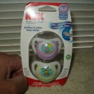 nuk orthodontic pacifier 0-2 months 2 ea in the sealed box