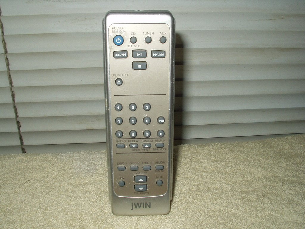 jwin jx-cd6700 remote only rare!