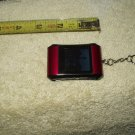digital solutions #128182 photo frame for keychain keyring burgundy