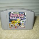 nintendo 64 game pack scooby doo classic creep capers #nus-006 gray cartridge only