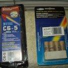 estes 7918 c6-5 1 pack w/ 3 single stage & estes 1511 a10-3t 4 ea model rocket engines