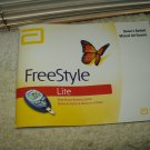 freestyle lite glucose monitoring system manual only in english & spanish
