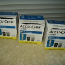 accu chek guide glucose test strips 3 sealed boxes of 50 ea 150 total exp 8/15/21 fresh!!