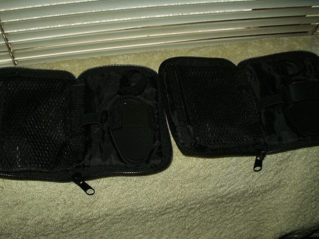 freestyle lite oem no monitor / no meter case pouch only lot of 2