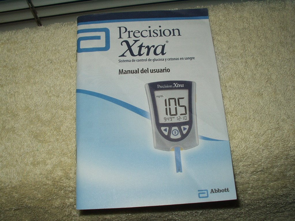 precision xtra users manual in spanish