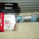 reach soft complete care curve whitening toothbrush w/ cinnamon cleanburst waxed floss 55 yard