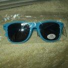 flirt4free sunglases light blue genuine w/ uv eye protection men or women sealed