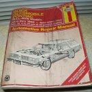 haynes # 19025 gm repair manual buick olds pontiac full size 1970 - 1990