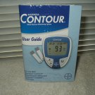 bayer ascensia contour no meter manual only english & spanish