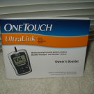 lifescan onetouch ultrralink glucose monitor users guide owners booklet only in english