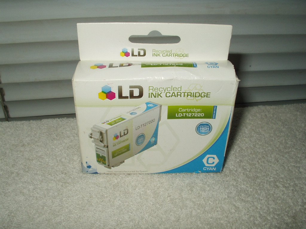 ld products Remanufactured Extra High Yield Cyan Ink cartridge # ld-t 127220