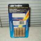 estes est1504 1/2a3-4t model rocket engine upper stage pack w/ 4 sealed
