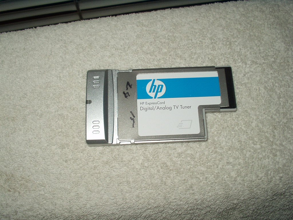 hp digital / analog tv tuner express card only # 438587-001