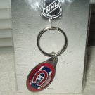montreal canadiens keyring keychain new sealed from 2007 oval chrome hunter brand