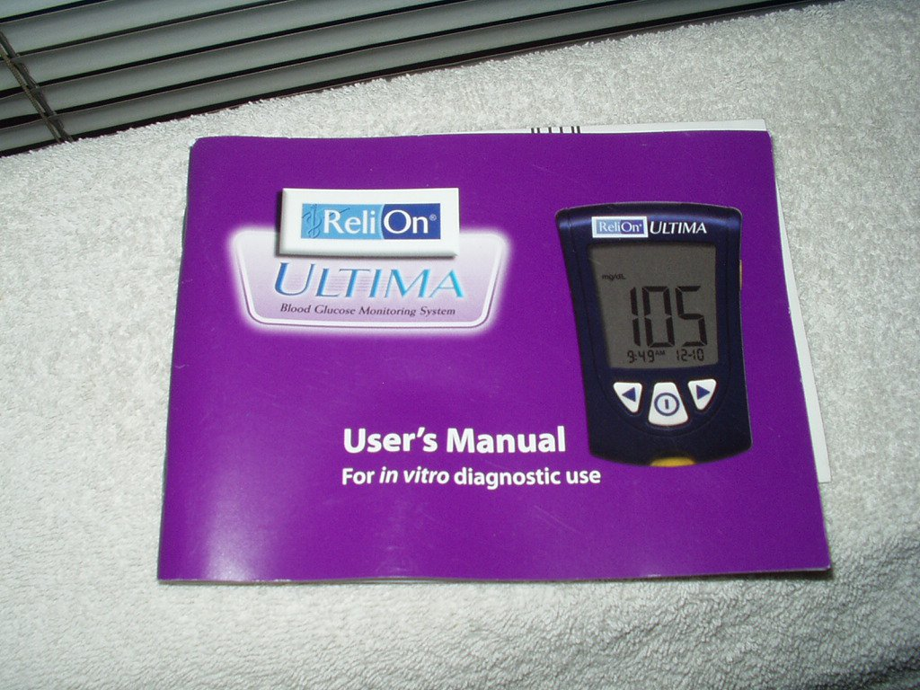 relion ultima users manual in english