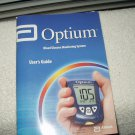abbott optium blood glucose monitor / meter manual only in english