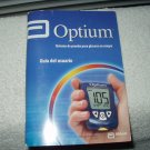 abbott optium blood glucose monitor / meter manual only in spanish
