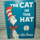 Dr Suess Hardcover Book The Cat In The Hat Grolier Book Club Edition