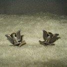 vtg us navy petty officer pin v-21-n iic-gi set of 2 left & right 1980's