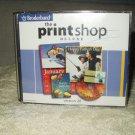 broderbund  print shop deluxe verion 20 windows 2000 xp +