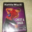 kettle worx chest & back workout dvd new sealed