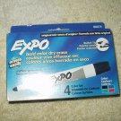 expo dry erase markers #88074 set of 4 ea bullet tip red green blue black