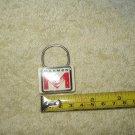 """vtg marmon motor company keychain / keyring """"M"""" logo"""