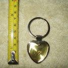 vancouver canada keyring keychain heart shaped w/ maple leaf