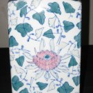 Antique Chinese Export Famille Rose Flowers Porcelain Vase, NR.