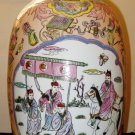 CHINESE REPUBLIC,HAND PAINTING FAMILLE ROSE PORCELAIN VASE
