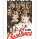 Bogart Bergman Casablanca #1 11x17 inch Vintage Movie Poster
