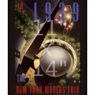 1939 New York World's Fair #1 - 11x14 inch Vintage Art Deco Poster