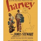 Jimmy Stewart - Harvey - Vintage Film Movie Poster [4 sizes, matte+glossy avail]