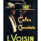 L Voisin Cafes - Vintage Advertisement/Poster