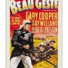Beau Geste - Vintage Film Movie Poster [4 sizes, matte+glossy avail]