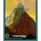 New Zealand #1 - 11x17 inch Vintage Travel Poster