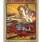 Russian White Knight 1917 Revolution Poster [4 sizes, matte+glossy avail]