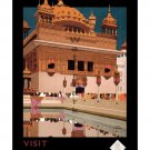 Visit India #2 - Vintage Travel Poster [6 sizes, matte+glossy avail]